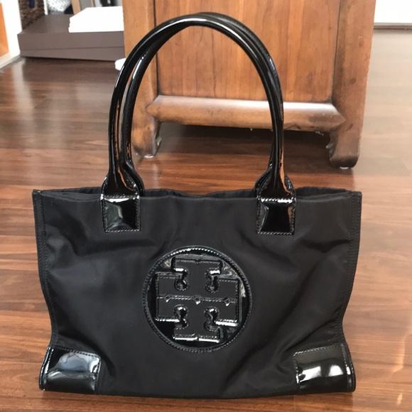 45e9f9a3f9c Handbags - Tory Burch Ella Nylon   Leather Mini Tote